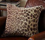Velvet Cheetah Pillow Cover