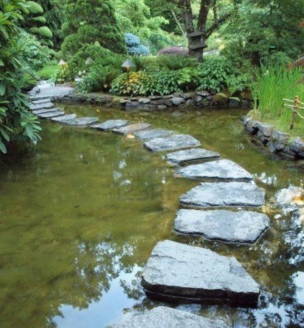 45 best stepping stones images on pinterest backyard for Koi ponds near me