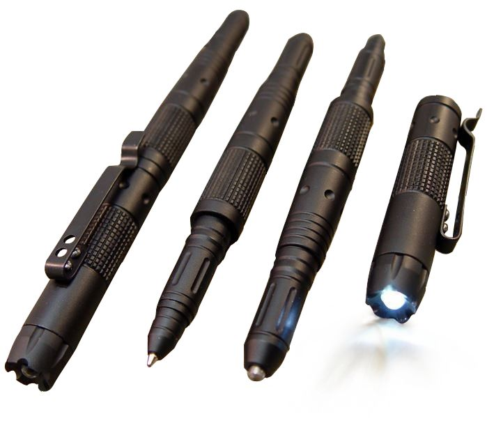 FRC Aluminum Tactical Pen LED / GLASS BREAKER / DNA CATCH Self Defense First Responder Central