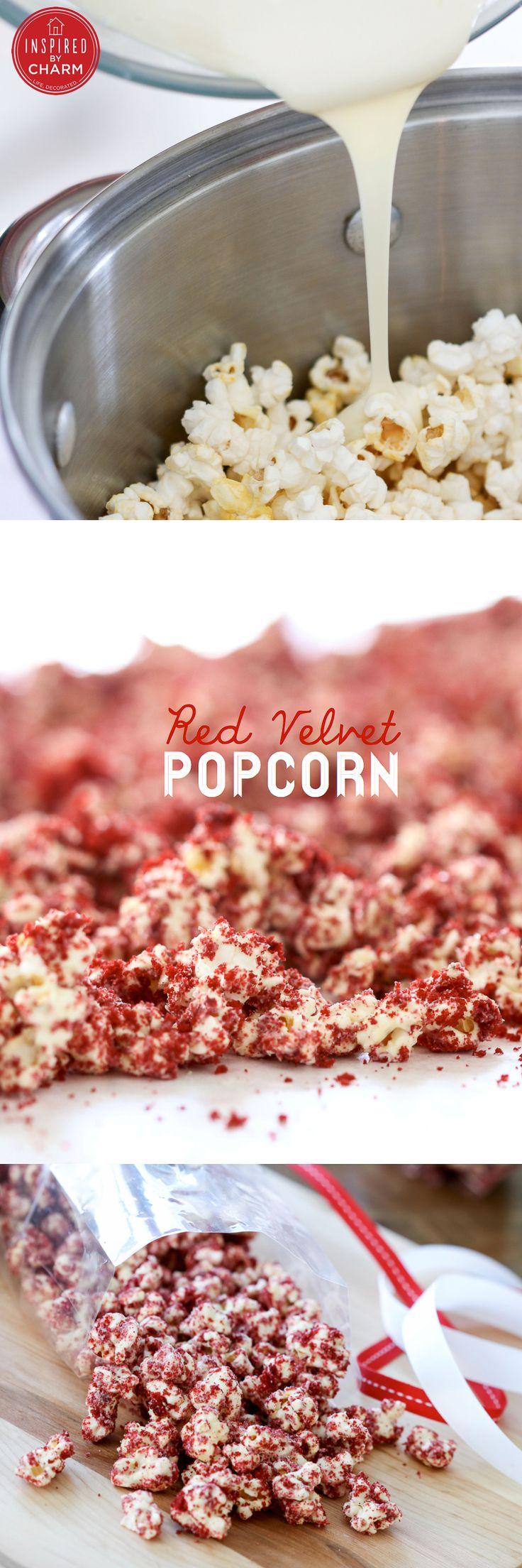 Red Velvet Popcorn! @Alice Tarr @Erin Higgins @Sarah Moellman @Kimberly Summers for valentines dayyyyy!!!