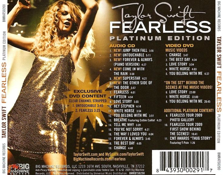 Taylor swift fearless platinum edition zip - abvarejoh's diary
