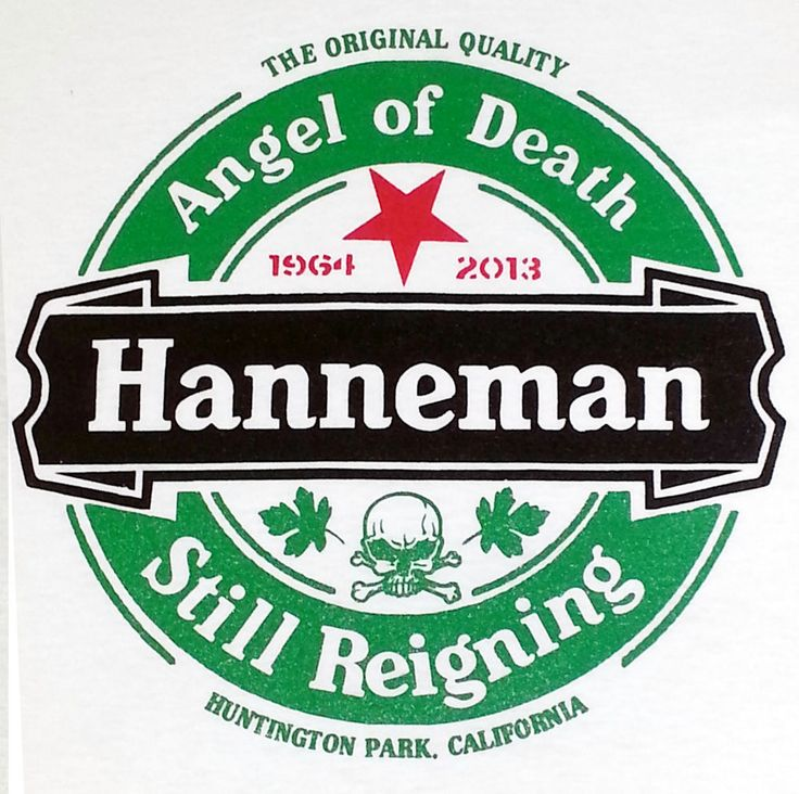 JEFF Hanneman tribute shirt ANGEL OF DEATH /STILL REIGNING