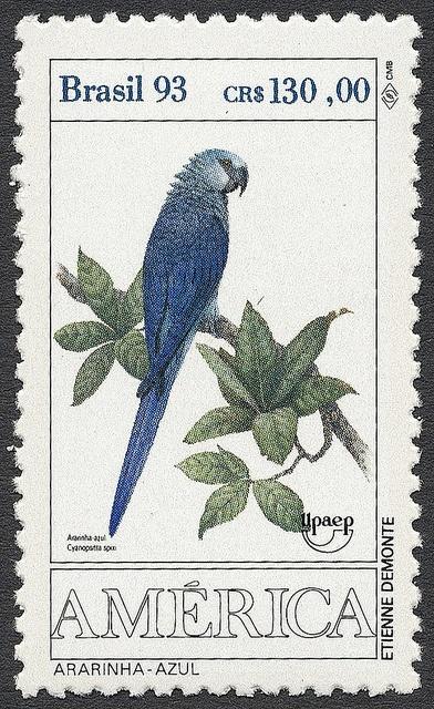 ♥ ◙ Brazil, Postage Stamp. ◙