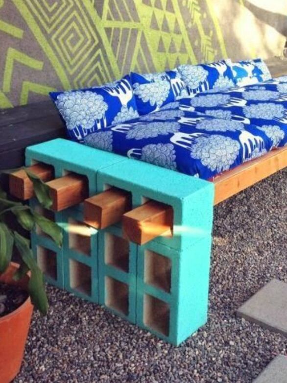 Easy and cute bench to make!