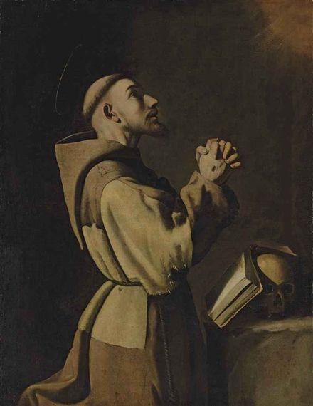 Francisco de Zurbarán, Saint Francis of Assisi in Prayer