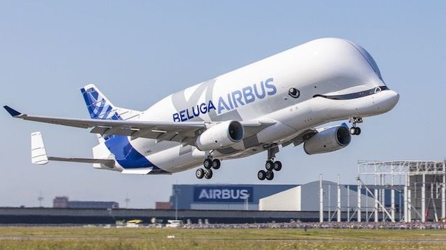The Airbus Beluga Xl Airbus A330 700l Is A Large Transport
