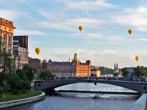 Stockholm. Near the top of my world itinerary