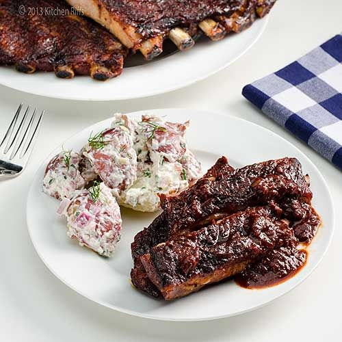 Oven Slow-Cooked BBQ Spare Ribs (Oven slow and low to grill) St. Louis Spare Ribs (like Costco sells)