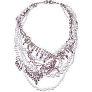Tom Binns Regal Rocker Swarovski crystal necklace