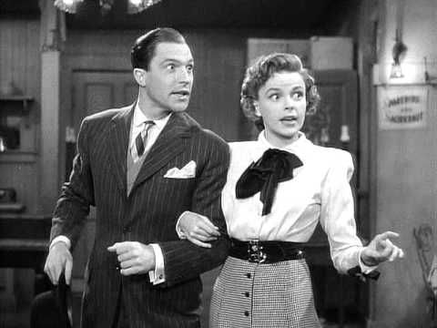 Judy Garland & Gene Kelly - For Me And My Gal (For Me And My Gal, 1942) - YouTube