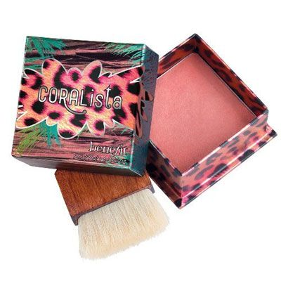 """Benefit Blush in Boxes in """"Coralista."""" Thank you Sephora lady for stopping me from buying Dandelion and recommending this instead"""
