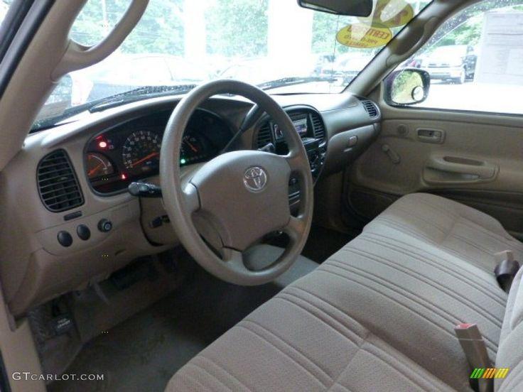 Oak Interior 2003 Toyota Tundra Regular Cab Photo #68585949 ...