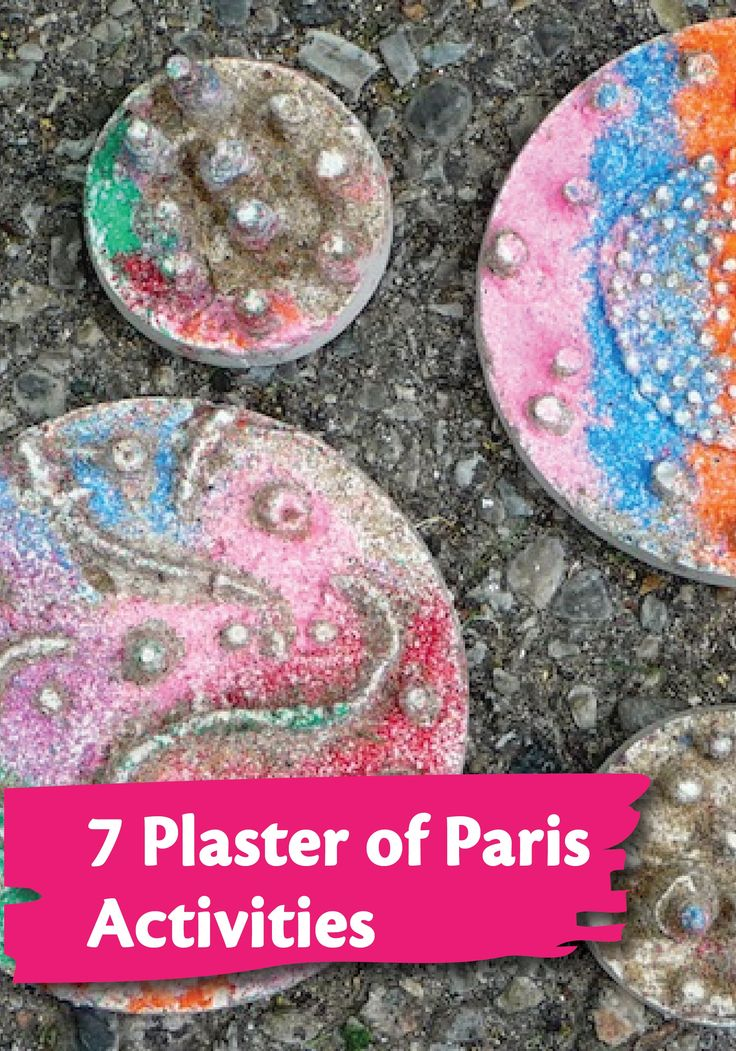 Check out these 7 fun plaster of paris activities for kids for Paris themed crafts for kids