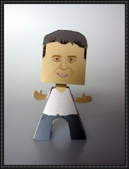 Joey Diaz Free Paper Toy Download - http://www.papercraftsquare.com/joey-diaz-free-paper-toy-download.html