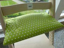 Sitzkissen aus Wachstuch für Stokke Tripp Trapp