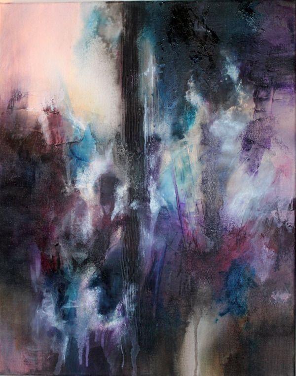 Les 25 meilleures id es concernant peintures abstraites sur pinterest peinture abstraite art - Peinture abstraite coloree ...