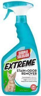 Bramton Company Simple Solution Extreme Cat Stain & Odor Remover (32 fl. oz. spray)