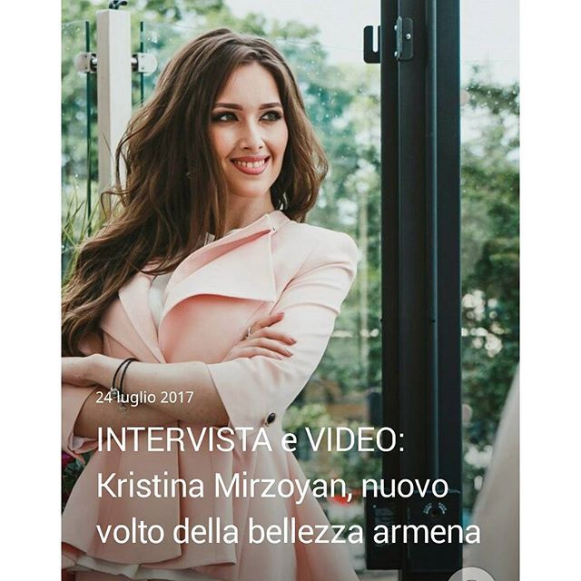 https://laterradihayk.com/2017/07/24/intervista-e-video-kristina-mirzoyan-nuovo-volto-della-bellezza-armena/ #KristinaMirzoyan #armenian #model #beauty #contest #stavropol