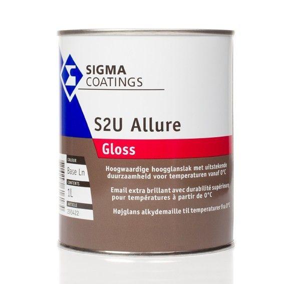 S2U Allure Gloss Langdurig glansbehoud, soepele verwerkbaarheid, verwerkbaar in alle seizoenen.