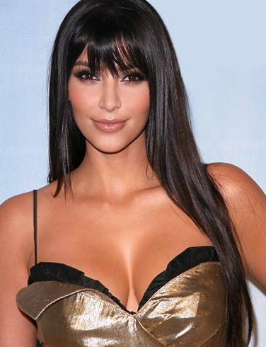 Kim Kardashians hair <3