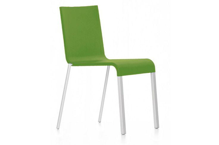 Vitra .03 stoel is een ontwerp van Maarten van Severen en heeft eenvoudige, strakke en slanke vormen. http://www.deprojectinrichter.com/Vitra/03