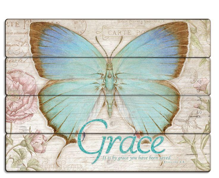 Grace Wooden Canvas
