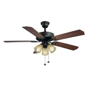 Oil rubbed bronze ceiling fan for downstairs bedroom, upstairs bedrooms, and garage apartment bedroom