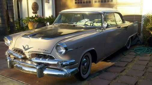1955 Dodge Royal Custom Lancer For Sale: $15,997..Driven almost out of business in 1953 and 1954, the Chrysler Corporation was revived with a $250 million loan from Prudential and new models designed by the legendary Virgil Exner.