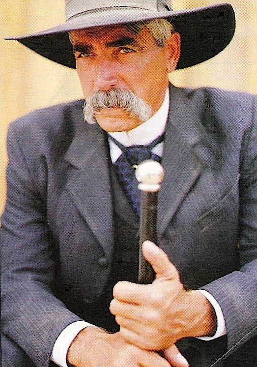 Tombstone.  Sam Eliot in one of my designs as Virgil Earp.  Every women on the crew was in love with him.  Every man respected him.  A true gentleman and  professional!  #josephporrodesigns
