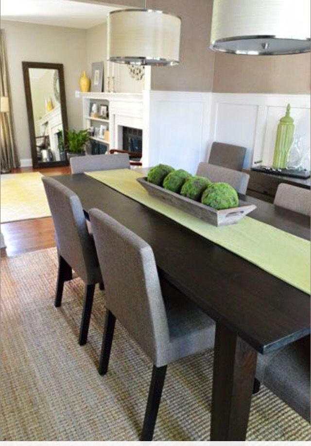 Simple centerpiece home decor pinterest centerpieces room and house - Stylish contemporary dining table ideas showing simple designs ...