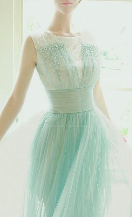 Dreamy mint dress