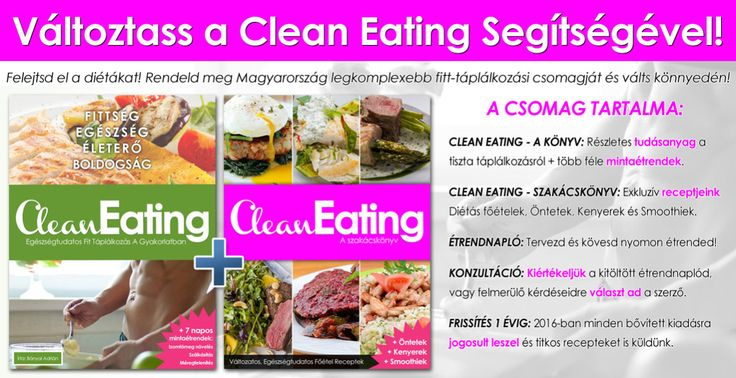 Clean Eating Életmódprogram 2016