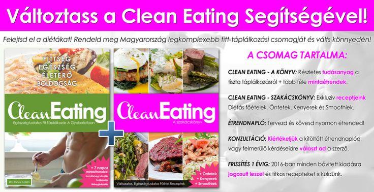 Clean Eating Életmódprogram 2016
