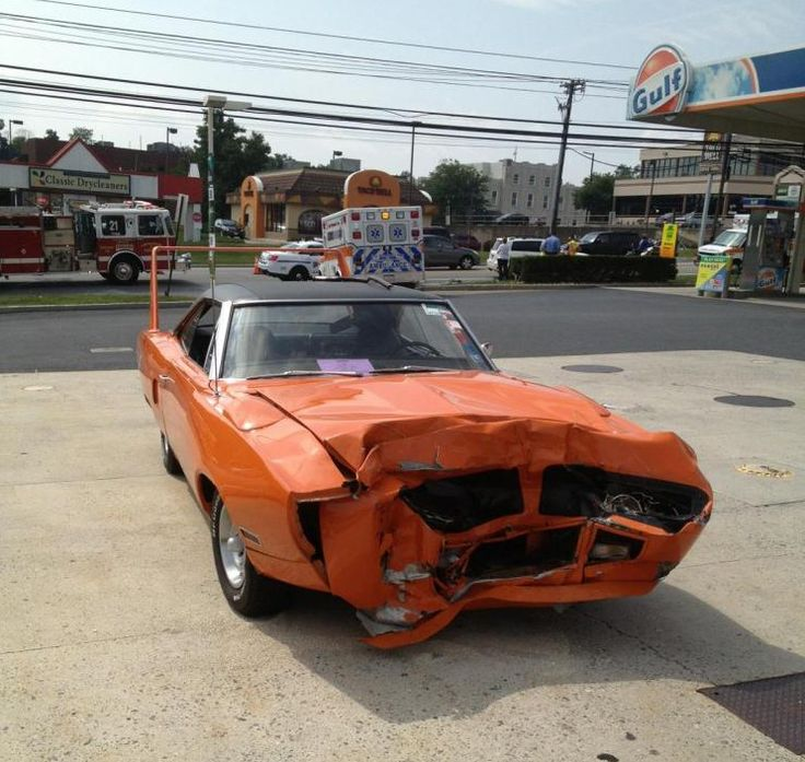 95 Best Images About Crashed Muscle Cars On Pinterest