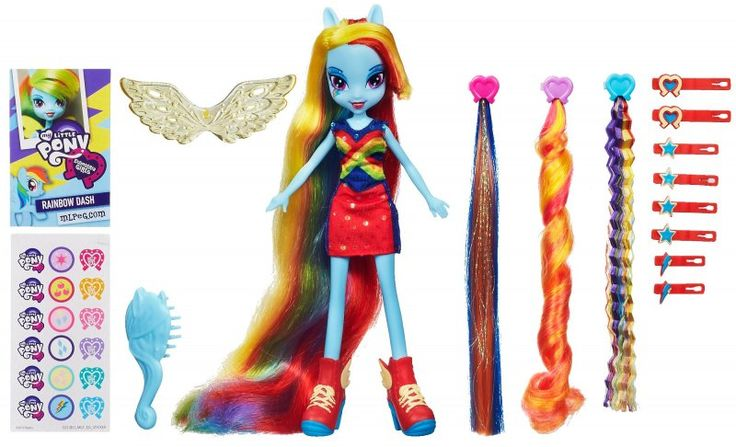 My Little Pony Equestria Girl, Rainbow Dash A5044 | MALL.PL