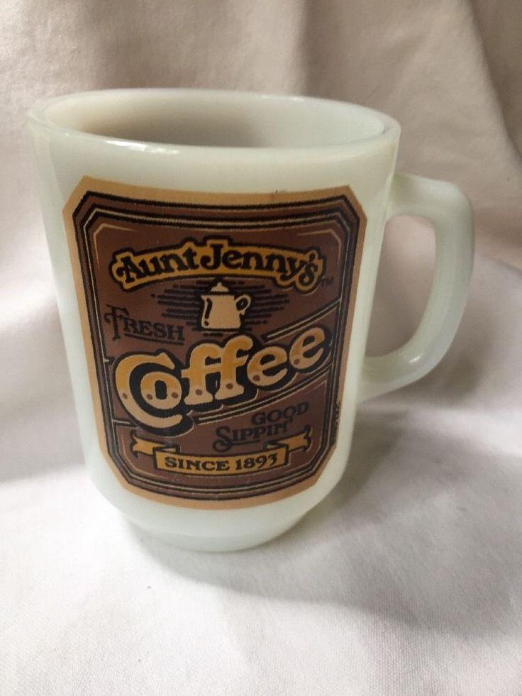 Aunt Jenny's Coffee Mug. USA Made