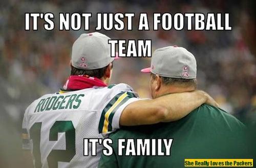 Not just a football team