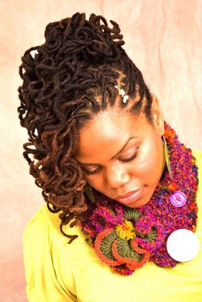 best way to style curly hair 84 best images about curly locs on going 4954 | 530bffc199eb3a93ecfc8935f0379845 black women natural hairstyles beautiful dreadlocks