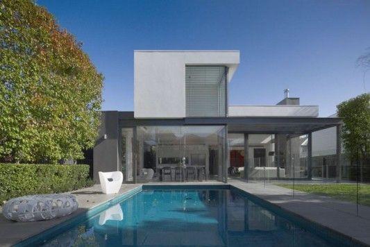 A minimalistic, modern home.  #IHeartMyMom