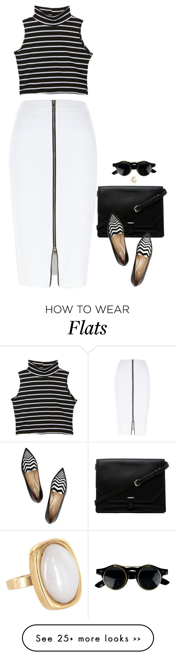 """Venice"" by miki006 on Polyvore featuring River Island, 3.1 Phillip Lim, Nicholas Kirkwood and Vintage"