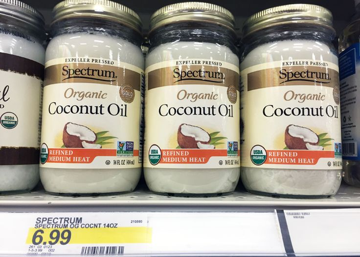 Spectrum Organic Coconut Oil, Only $4.99 at Target!