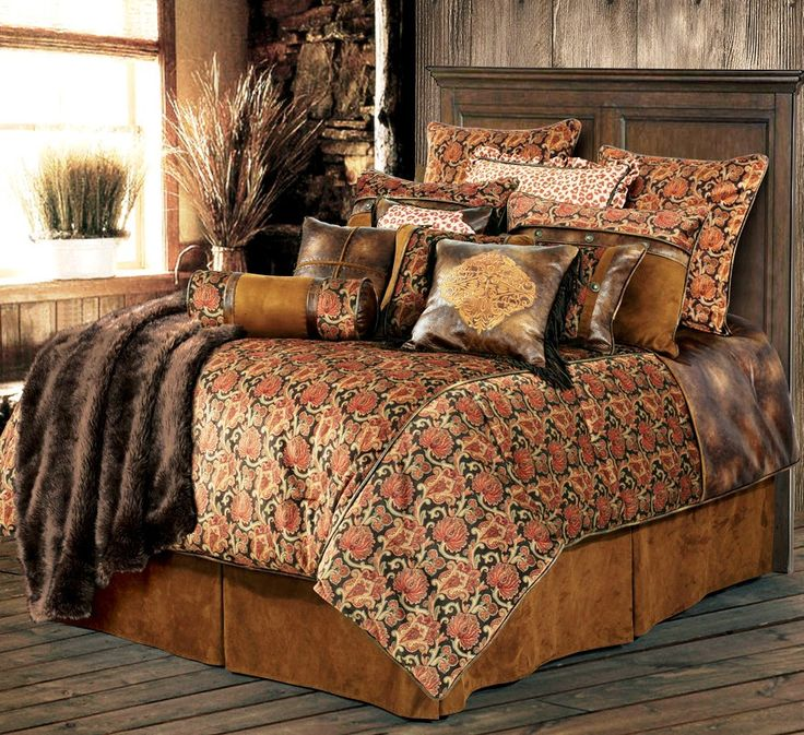 Austin Paisley Bedding Ensemble Western bedding sets