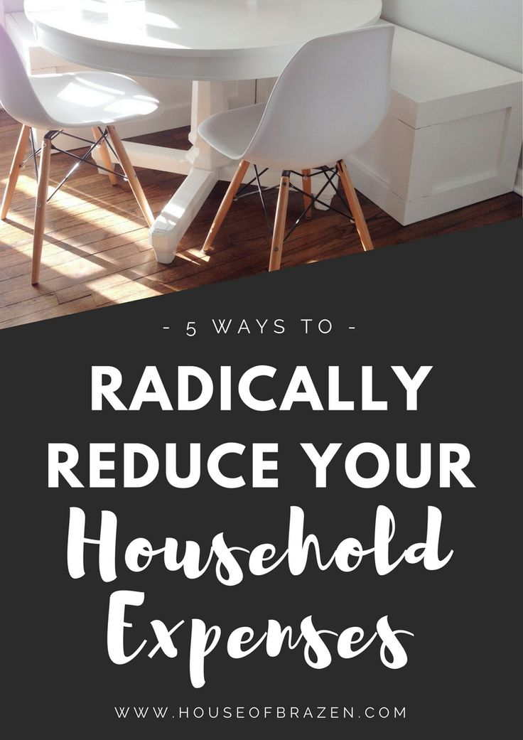 Are your household bills getting too high? Learn my 5 tips on how to radically…