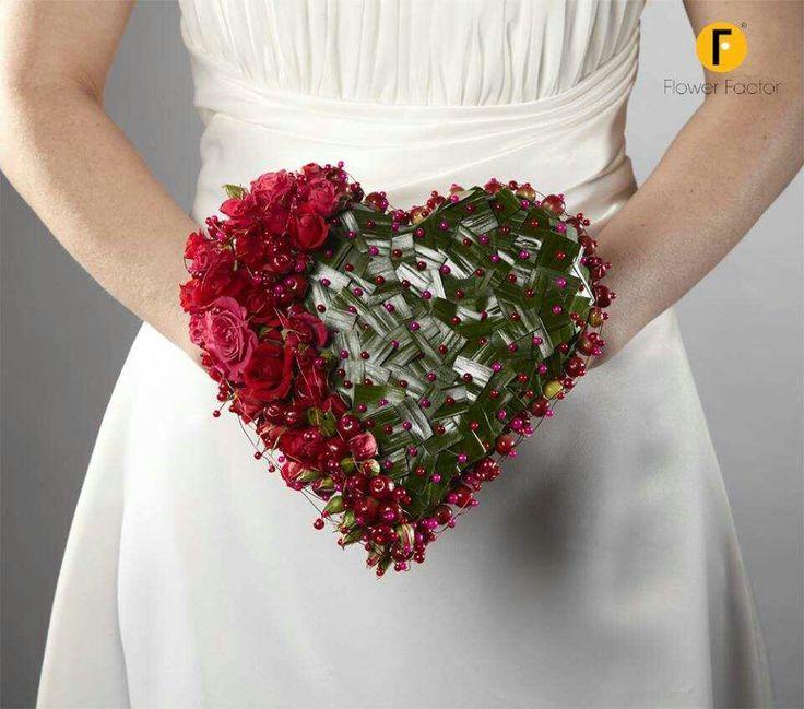 204 Best Heart Shaped Bouquet Images On Pinterest