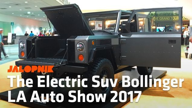 Watch Myself Climb All-around Plus Through The Bollinger B1 Electrical Utility Truck
