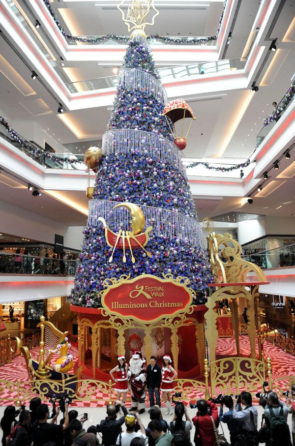 China Hong Kong Giant Christmas Tree Cn Unusual Christmas Trees Christmas Tree Christmas Tree Crafts