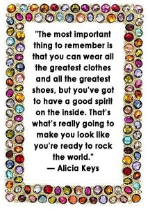 Fashion Quote from Alicia Keys