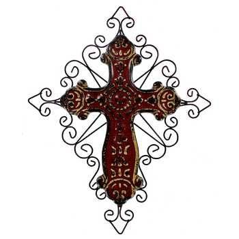 Decorative Ceramic Wall Crosses