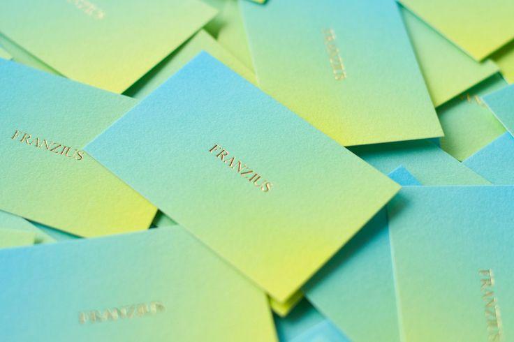 corporate identity and stationary for (the Berlin based fashion label) Franzius / designed byStudio Hausherr