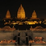 Ramayana Ballet in a magical temple of Prambanan